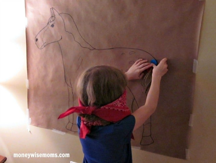 Pin the Tail on the Horse | Western Birthday Party | MoneywiseMoms