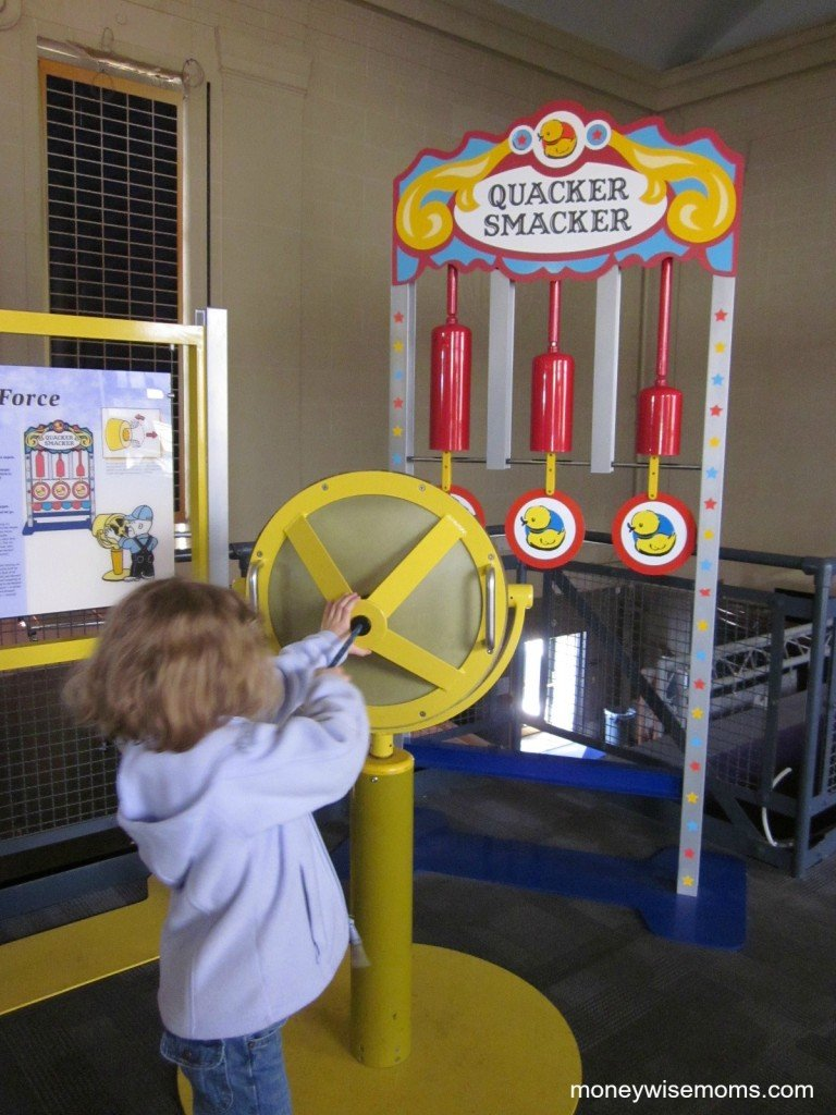 Duck Shooter | Science Museum of Virginia #familyfun | MoneywiseMoms
