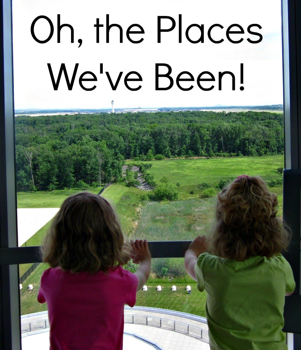 Oh, the Places We've Been! {Day Trips from DC}