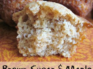 Brown Sugar Maple Muffins