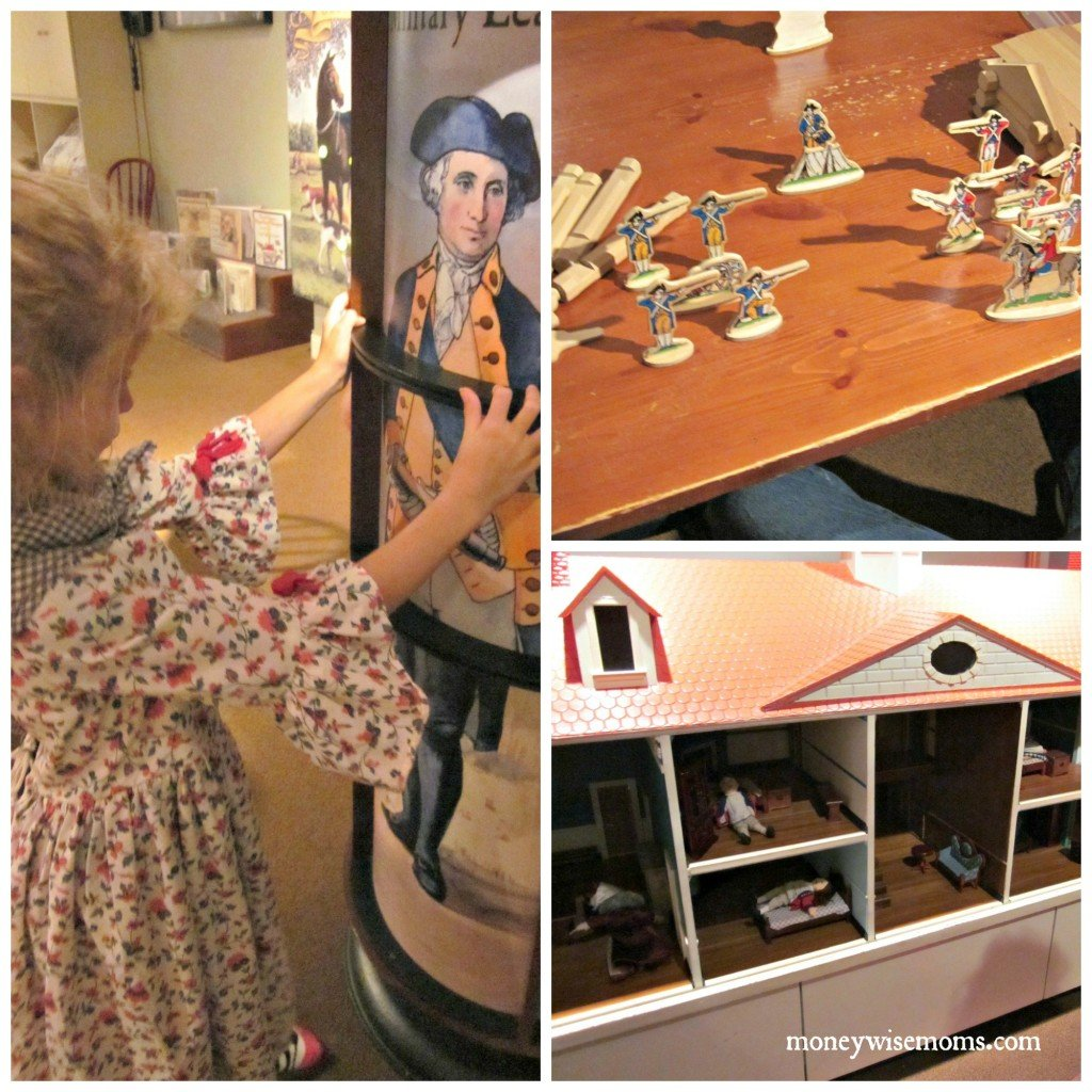 Hands on History Room -- Mount Vernon with Kids