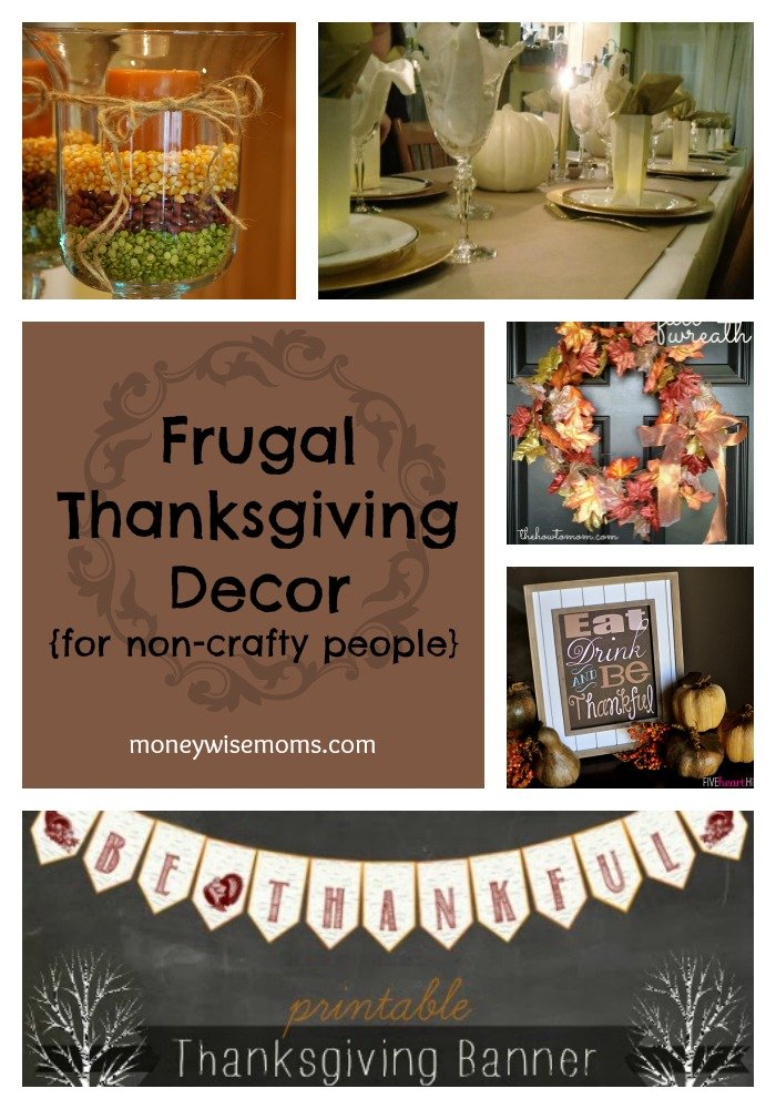 Frugal Thanksgiving Decor | Easy ways to decorate this fall | MoneywiseMoms