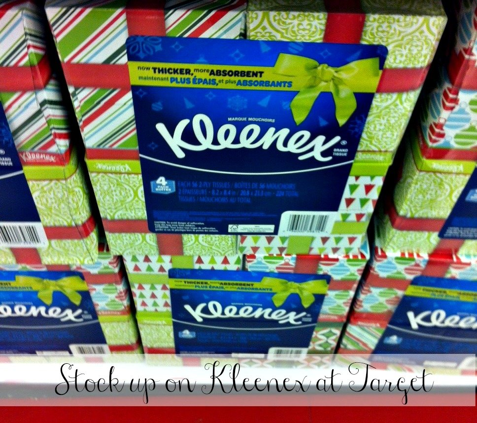Taking Care of Holiday Guests   Stock up on #KleenexTarget #PMedia