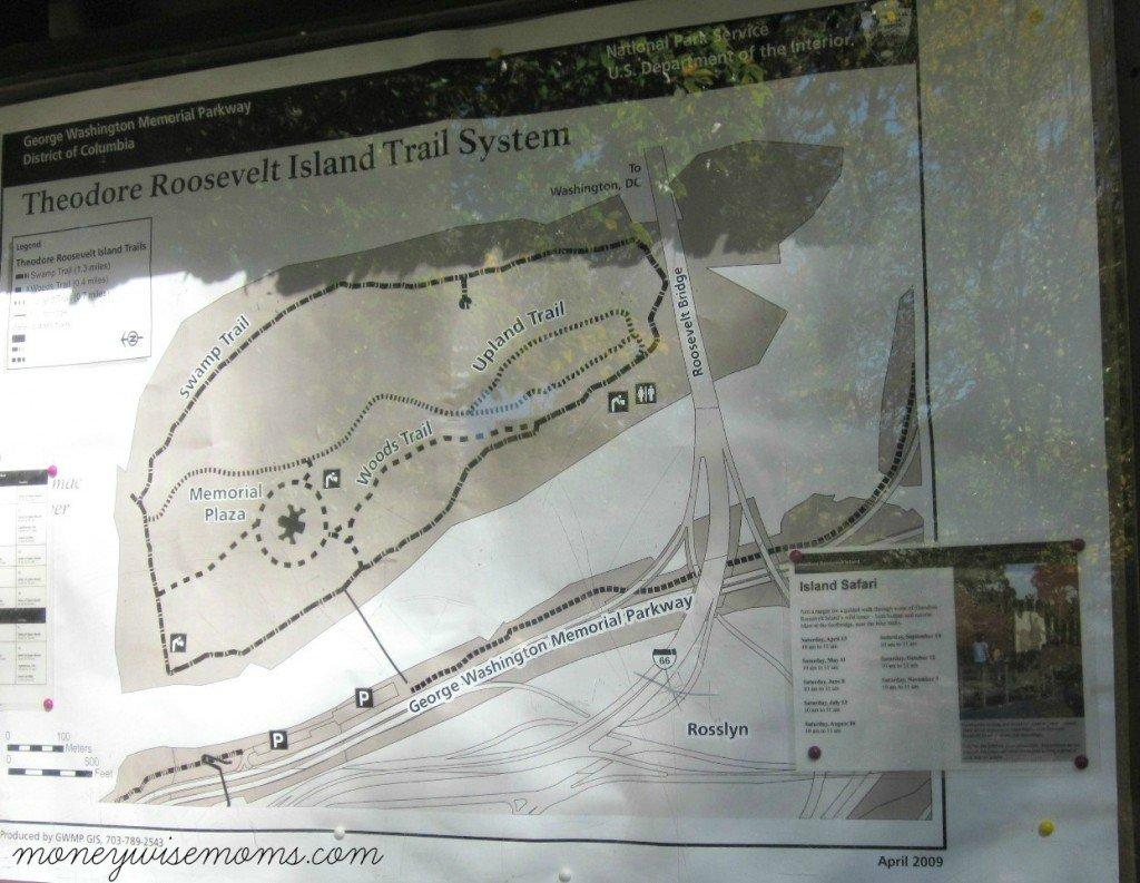 Theodore Roosevelt Island - DC - MoneywiseMoms
