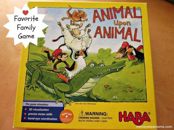 Animal Upon Animal Game | Favorite Family Games Gift Guide | MoneywiseMoms