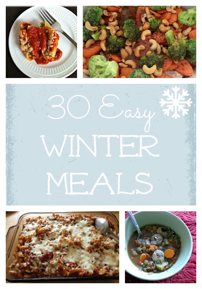 30 Easy Winter Meals | Family-friendly real food dinners to make meal planning easy during the winter months