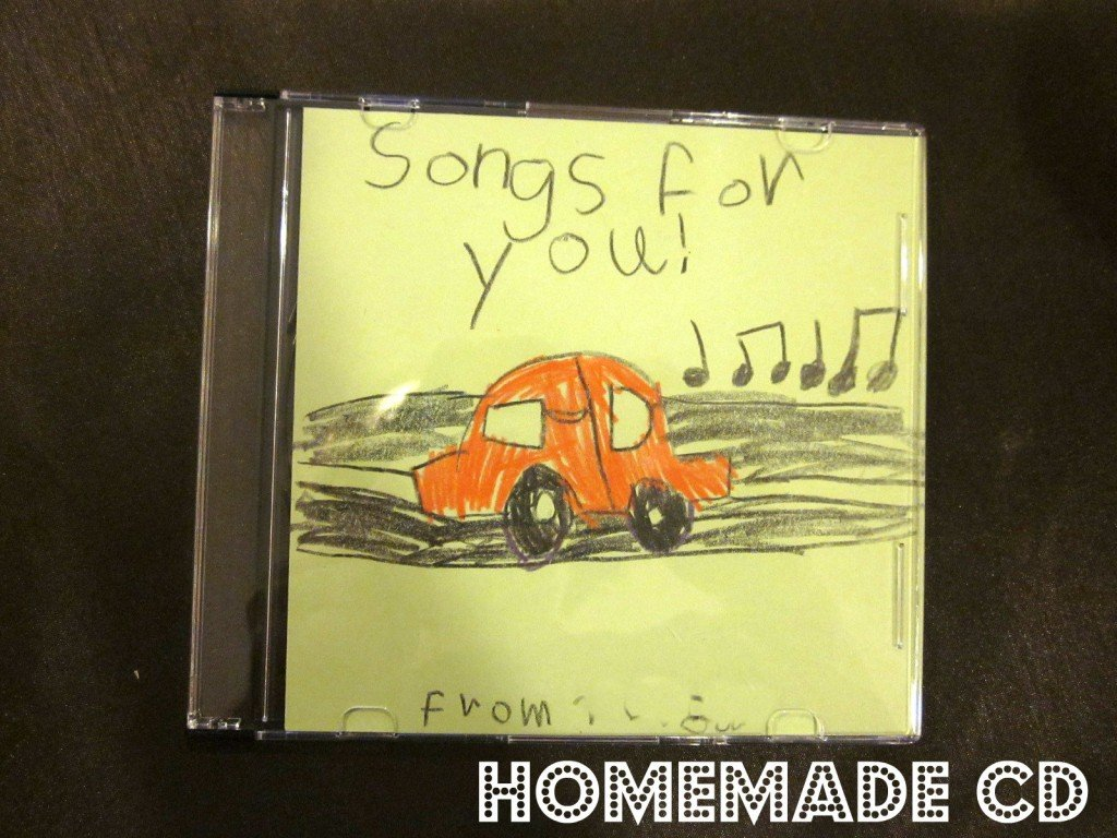 Gifts Kids Can Actually Make | Homemade CD via @MoneywiseMoms