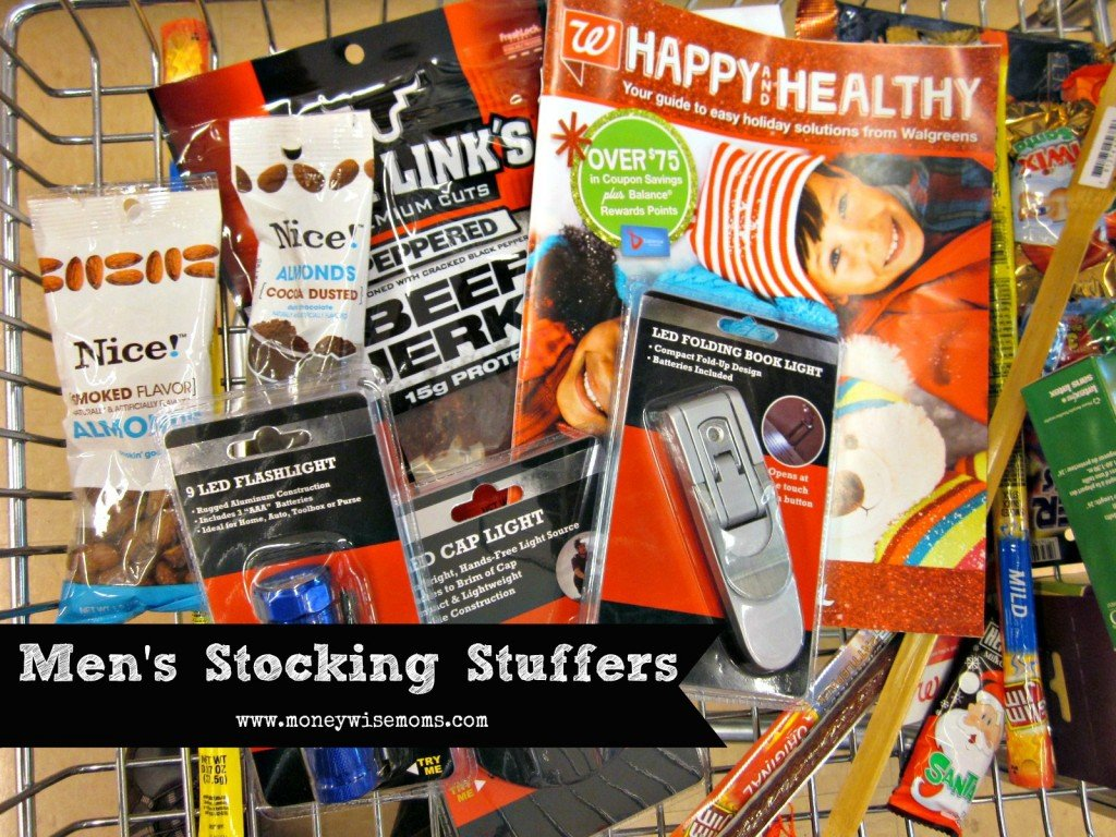 Men's Stocking Stuffers with Walgreens Holiday Guide #HappyAlltheWay #shop | MoneywiseMoms