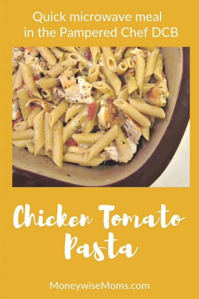 Chicken Tomato Pasta DCB Recipe