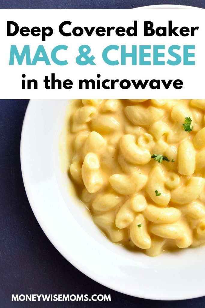 DCB Mac and Cheese in the microwave