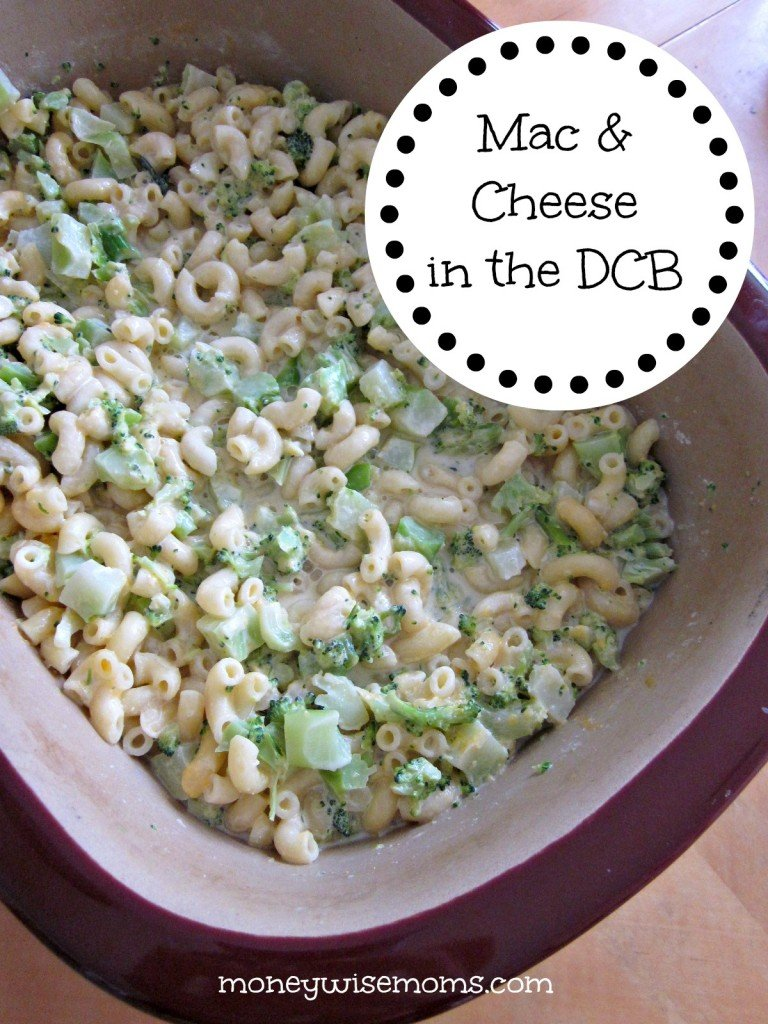 Macaroni & Cheese in the Deep Covered Baker | Great way to use your Pampered Chef DCB in the microwave | MoneywiseMoms