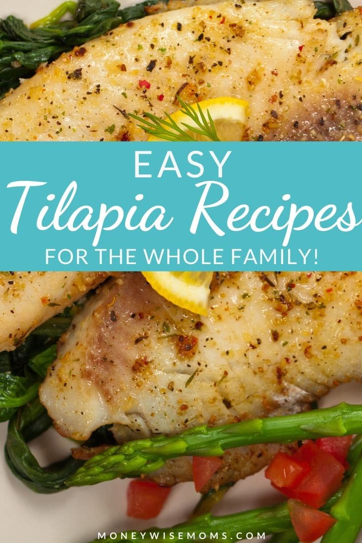 Easy Tilapia recipes that the kids will like - family friendly fish recipes