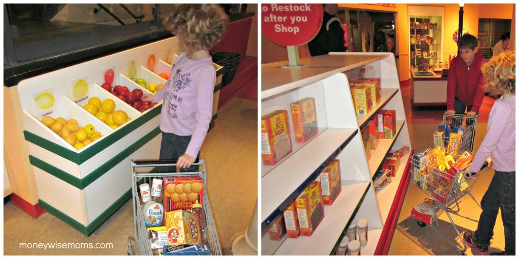 Grocery Shopping | Please Touch Museum | MoneywiseMoms