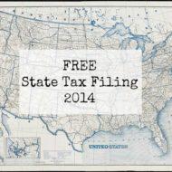 Free State Tax Filing 2014