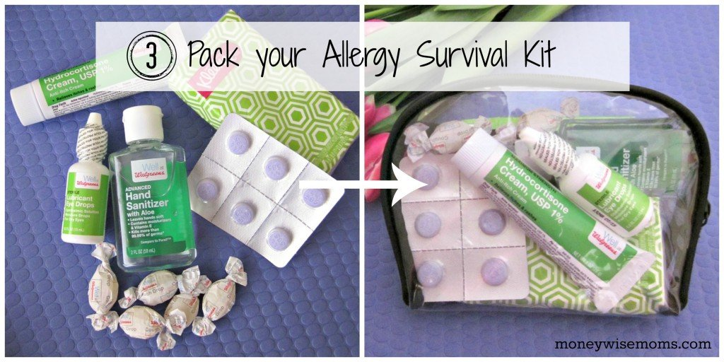 Family Allergy Issues? Pack an Allergy Kit #WellatWalgreens #shop | MoneywiseMoms