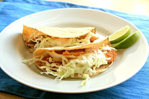 Tilapia Fish Tacos from 5 Dollar Dinners