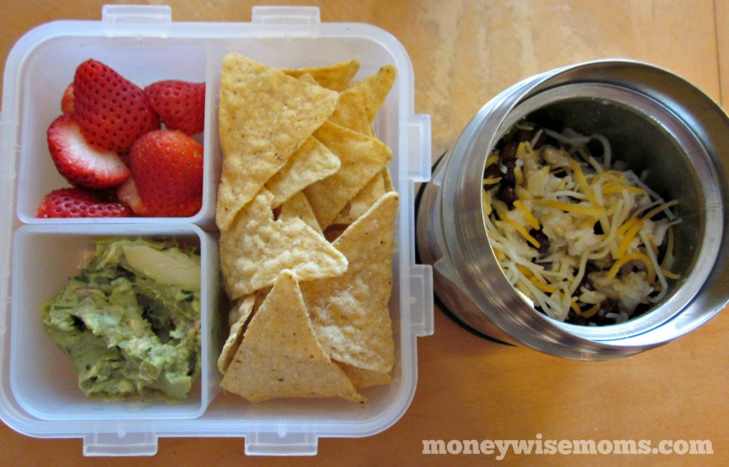Beans and Rice Lunch | School Lunch Roundup #realfood | MoneywiseMoms