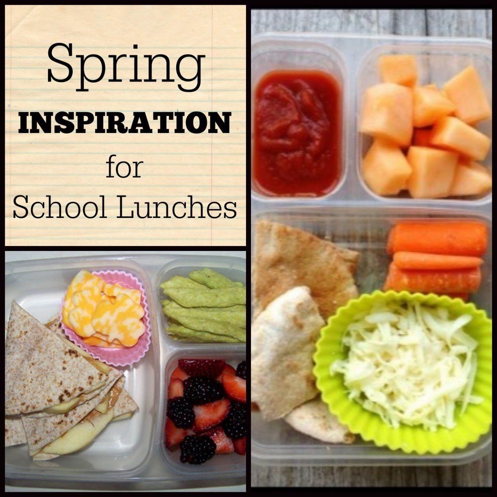 Spring inspiration for school lunches | Liven up your kids' lunches with new combos, more fruits & veggies | MoneywiseMoms