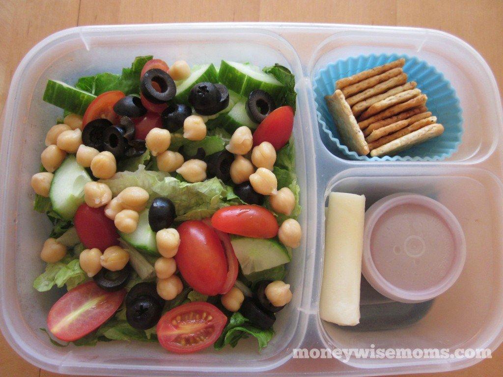 Salad Lunch | School Lunch Roundup #realfood | MoneywiseMoms
