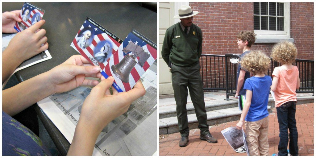 Trading Card Collecting | Independence National Park in Philadelphia #familytravel | MoneywiseMoms