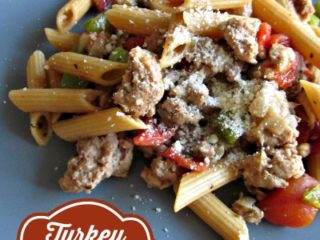 One Pot Turkey Parmesan Pasta