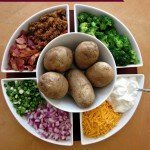 Baked Potato Bar {Easy Party Favorite}