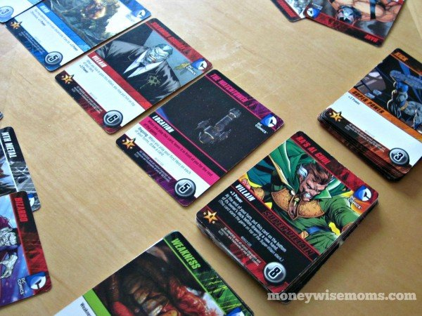 DC Deck Building Game | Favorite Family Games Gift Guide | MoneywiseMoms