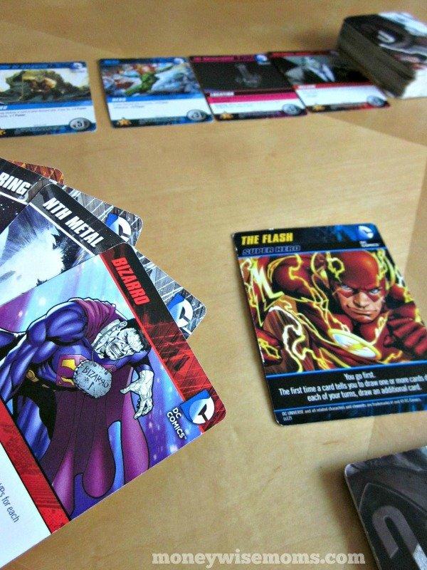 DC Card Game Hand | Favorite Family Game | MoneywiseMoms