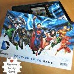 DC Deck Building Game {Favorite Family Game}