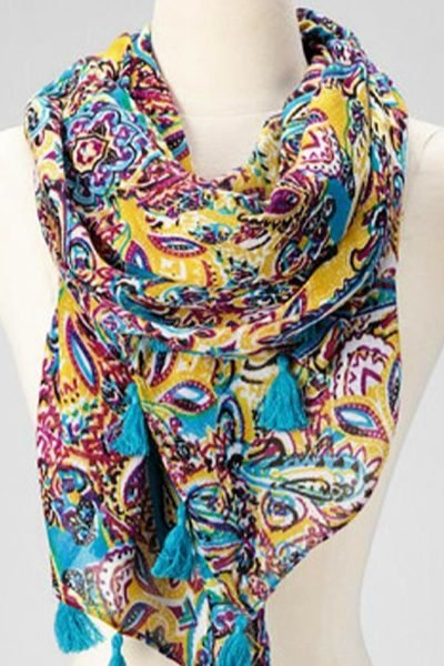 Pretty Spring Scarves for under $10