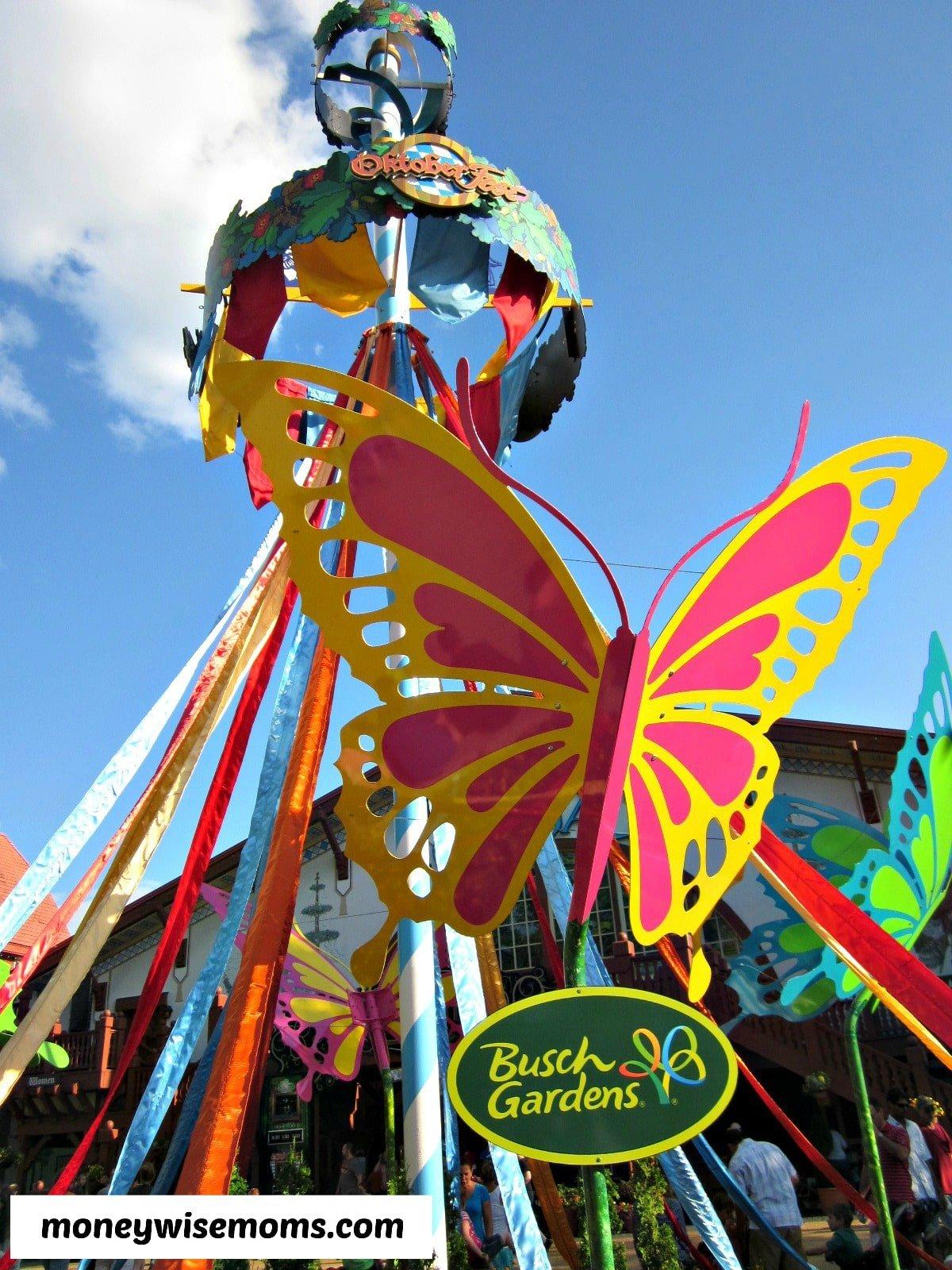 Busch Gardens Williamsburg #familytravel #BuschGardens | MoneywiseMoms