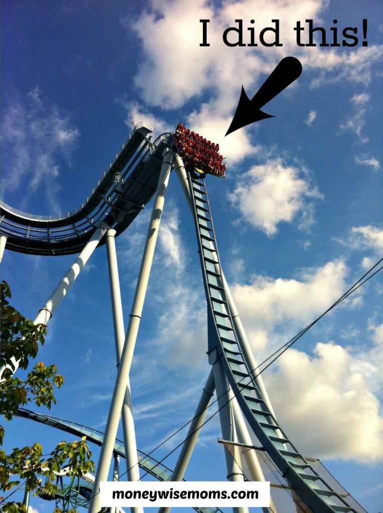 Griffon Roller Coaster at Busch Gardens Williamsburg #familytravel #BuschGardens | MoneywiseMoms