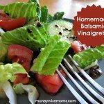Homemade Balsamic Vinaigrette Dressing
