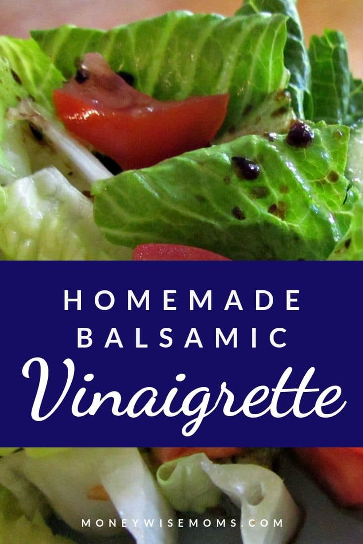 Making homemade balsamic vinaigrette dressing is easier than you think. Making homemade salad dressing can save you time and money, but it is also a healthier option for the whole family.