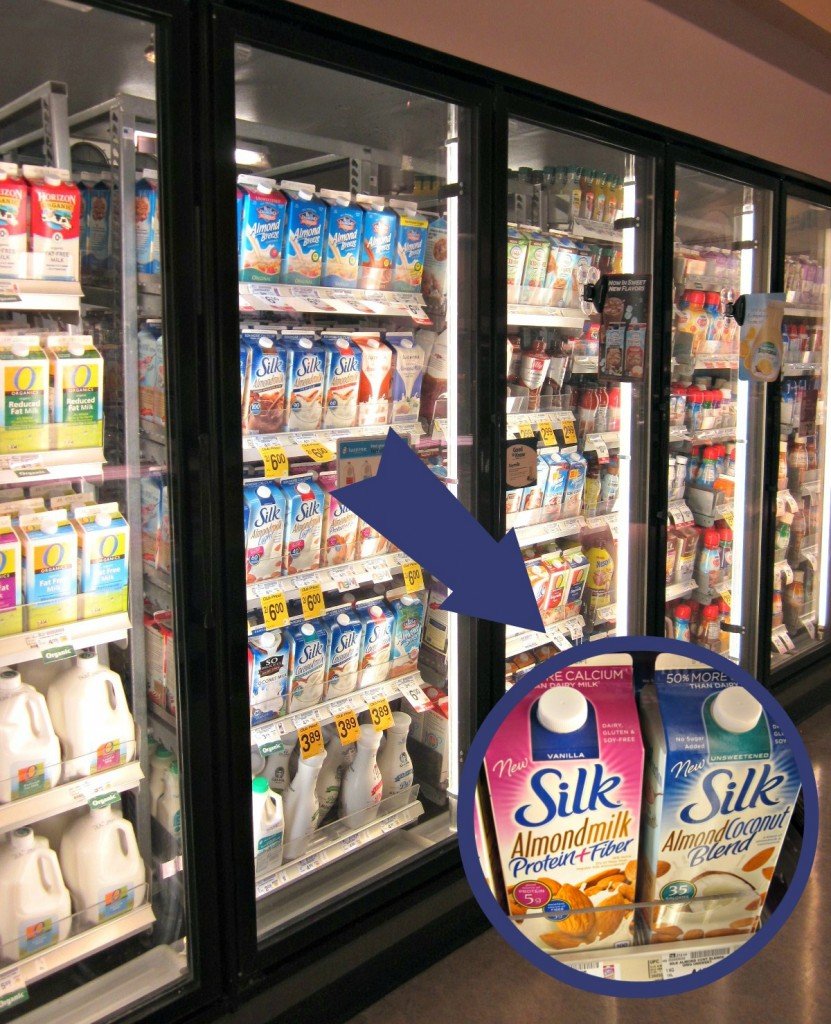Silk Almondmilk Products at Safeway #SilkAlmondBlends #shop   MoneywiseMoms