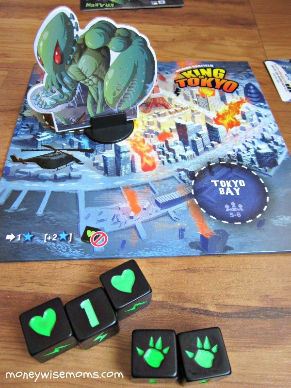 King of Tokyo | Favorite Family Games Gift Guide | MoneywiseMoms
