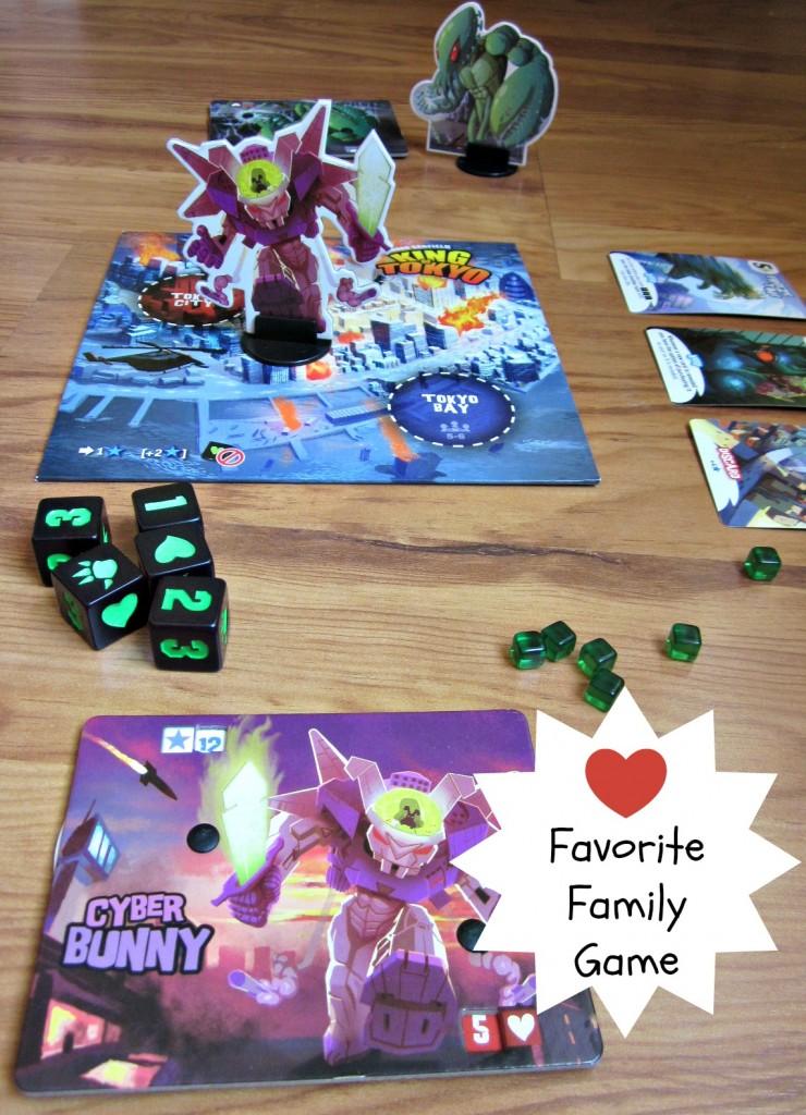 King of Tokyo - great family board game #frugalfun | MoneywiseMoms