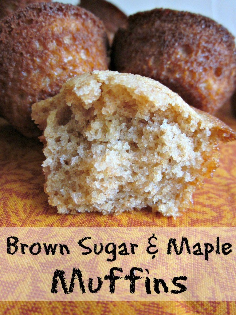 Brown Sugar Maple Muffin Recipe | Easy #realfood #recipes for lunchboxes and afterschool snacks | MoneywiseMoms