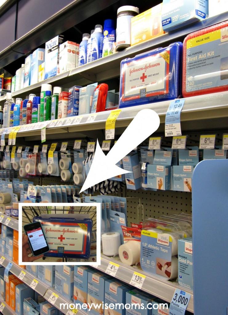 First Aid Kit - a Road Trip Essential #familytravel - #WalgreensPaperless Coupons via MoneywiseMoms