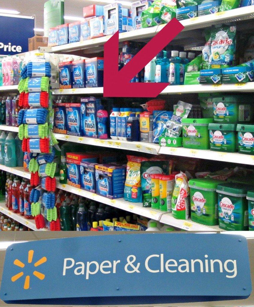 Finish Tabs at Walmart #SparklySavings #CollectiveBias