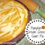 Pumpkin Cream Cheese Swirl Pie | MoneywiseMoms