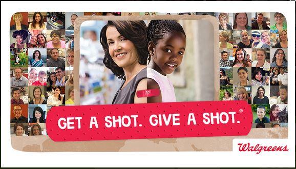 Walgreens #GetaShot Give a Shot immunizations | MoneywiseMoms