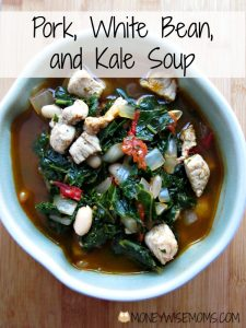 Pork, White Bean and Kale Soup