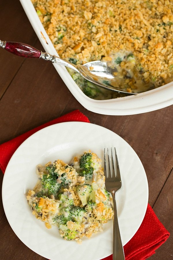 Broccoli Casserole from Brown Eyed Baker | Easy Thanksgiving Side Dishes | MoneywiseMoms
