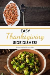 I've found a bunch of sides over the years that are easy to make and super flavorful. Enjoy these 10 easy Thanksgiving side dishes