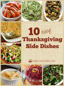 Easy Thanksgiving Side Dishes | MoneywiseMoms