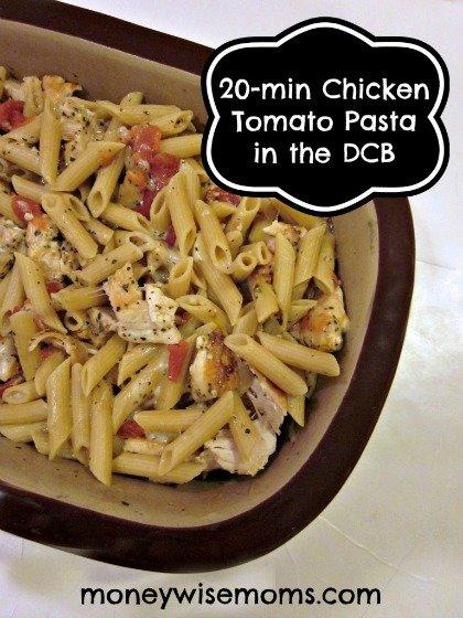 Chicken Tomato Pasta Recipe   MoneywiseMoms