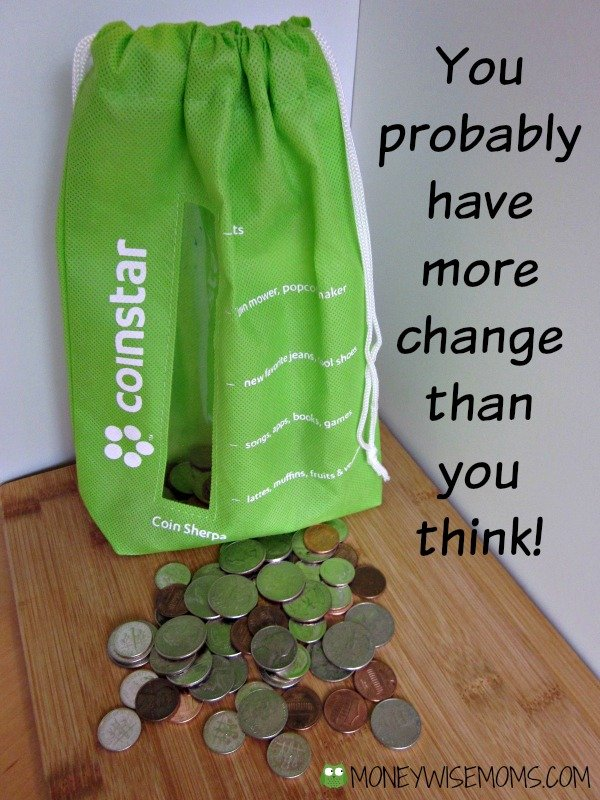Cashing in with Coinstar | You probably have more money than you think! | MoneywiseMoms