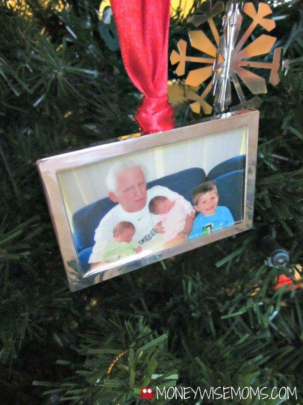 Dad Photo Christmas Ornament | MoneywiseMoms