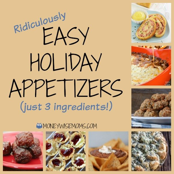 Easy Holiday Appetizers | MoneywiseMoms
